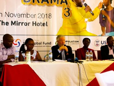 The panel was composed by UmC staff and partners including PMC President , SFH/Rwanda and USAID staff